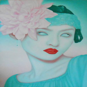 Feng Zhengjie oil portrait Chine No.2