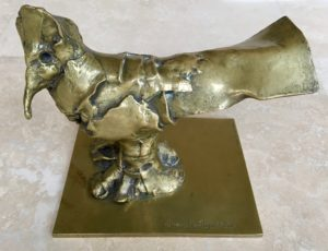Cesar sculpture bronze Poule