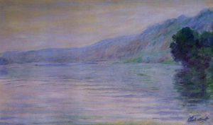Claude MONET La Seine à Port-Villez, effet bleu